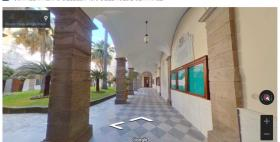 Tour virtuali Uniss_cortile interno_Google maps
