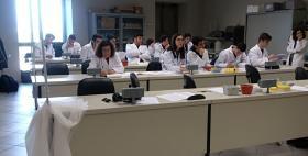 Alternanza scuola lavoro Uniss 2017-2018_Nella foto, dipartimento di Scienze biomediche