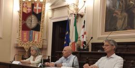 Conferenza stampa offerta formativa Uniss 2020/2021_Rossella Filigheddu, Massimo Carpinelli, Massimo Dell'Utri