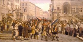 L'ingresso a Sassari di G.M. Angioy_Giuseppe Sciuti_Pubblico dominio