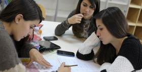 Studentesse dell'Università di Sassari