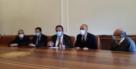 Antonello Serra, Andrea Piana, Gavino Mariotti, Giovanni Sotgiu, Paolo Castiglia