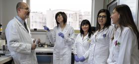 Studenti al Dipartimento di Scienze Biomediche