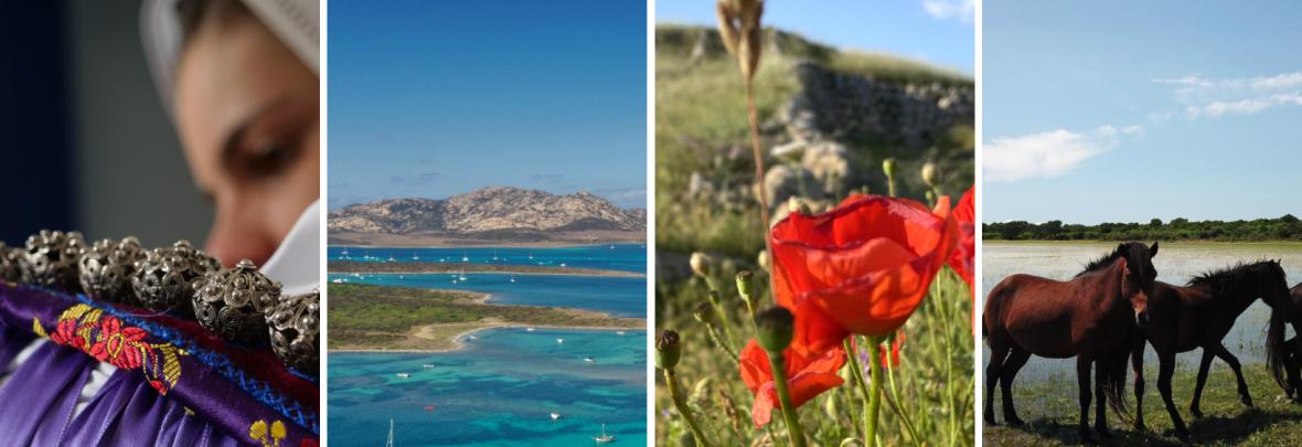 Elementi paesaggistici e immagini legate ala Sardegna